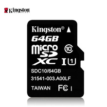 Original Kingston Class 10 Memory Card Micro SD Card 64GB TF/microsd Trans Flash Cards Class10 64gb microSD  free shipping(China (Mainland))