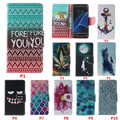New Fashion For Apple iPhone Samsung Galaxy For Huawei HTC Flip Stand PU Leather Wallet Phone