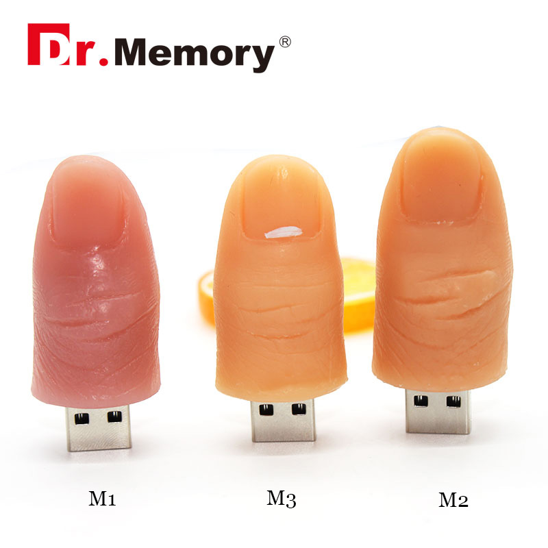 USB 2.0 New arrival 16gb pendrive Finger usb flash drive 32gb usb stick 4gb 8GB pen drive hot selling u disk figure model(China (Mainland))
