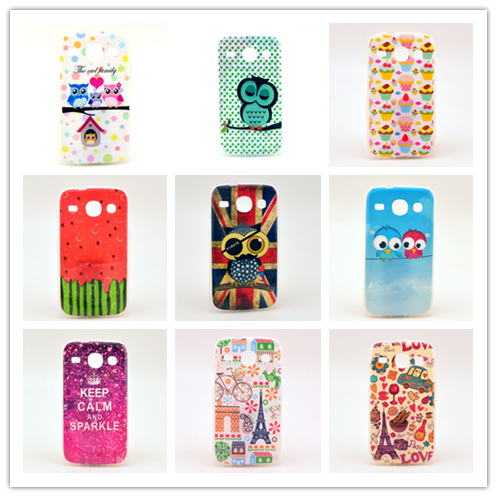 & Retail Luxury TPU Soft Phone Case Covers Samsung Galaxy Core i8262 i8260 Fashion Back Cover Cases - U-speed store