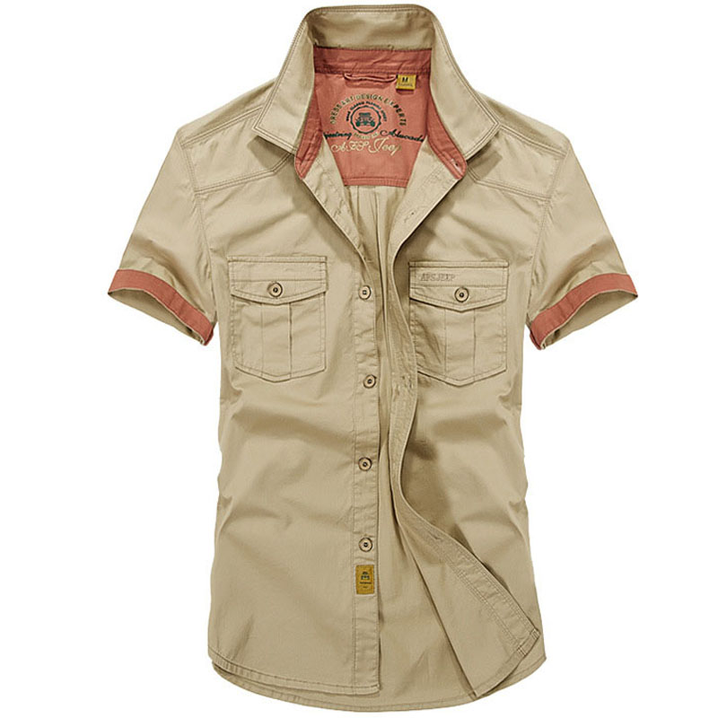 Buy free shipping afs jeep brand men 39 s for Best place to buy mens dress shirts