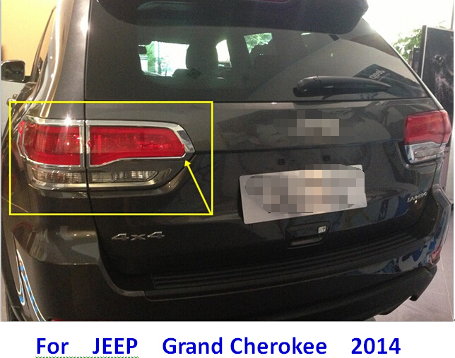 Exterior Accessories For 2011 2012 2013 2014 Jeep Grand Cherokee Rear Tail Back Turning Brake