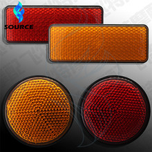 2015 New Products Round Motorcycle Accessories Universal Red LED Turn Signal Light Indicator Blinkers Light(China (Mainland))