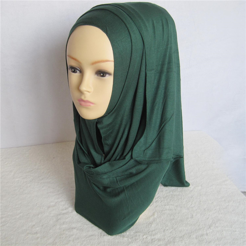 muslim islamic womens soft wrap shawl jersey