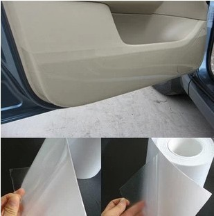 Free shipping Rhino Skin Car Bumper Hood Paint Protection Film Vinyl Clear Transparence film 20cmx5m thickness:0.2mm(China (Mainland))