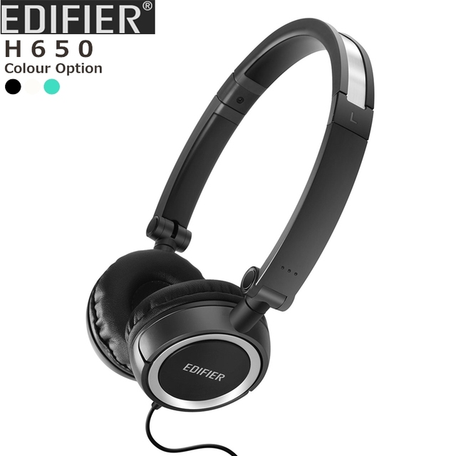 EDIFIER H650 Perfect headphones for  travelling Foldable design Available in seven colors Non-tangling wire PK Bluedio T2S
