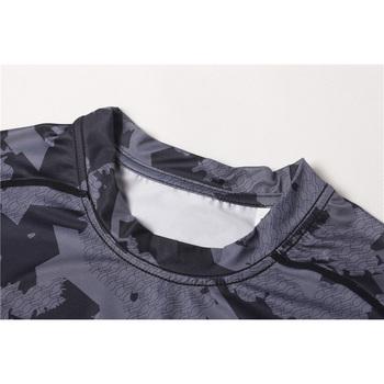 Men Compression Batman Spandex Skins Base Layers Mmale Running T-shirts Sports