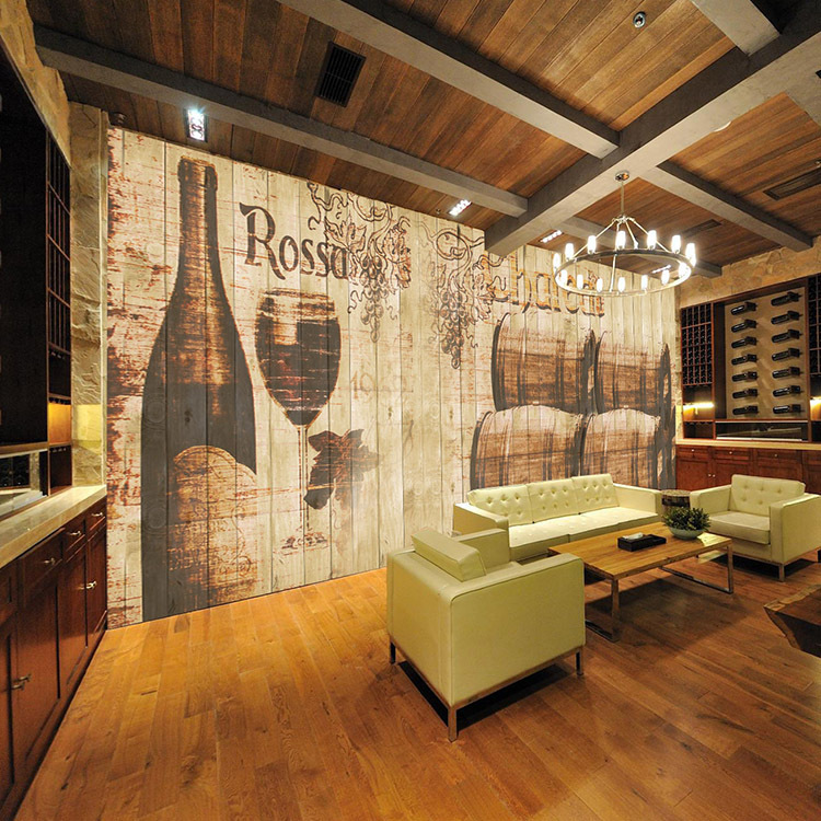 Personalized custom wallpaper large mural wallpaper retro for Ceiling mural in a smoker s lounge