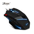 TK Brand Zelotes T60 7200DPI Wired Gaming Mouse Optical Adjustable USB Computer LED Mice for PC