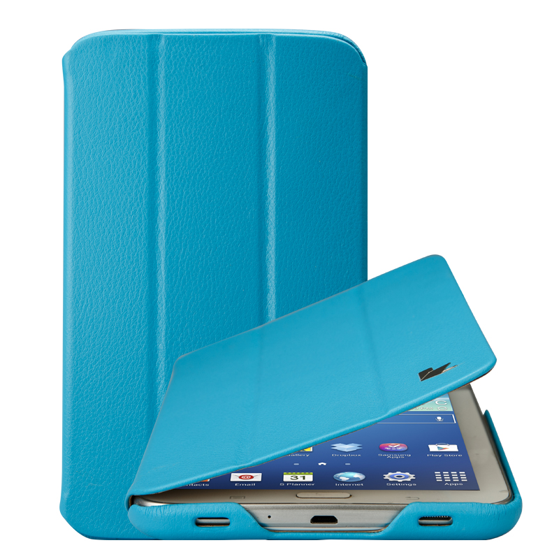 Jisoncase Original Business Ultra Slim Thin Leather Case BOOK Cover For Samsung Galaxy Tab3 7.0 Inch T210 &amp; T211 Case<br><br>Aliexpress