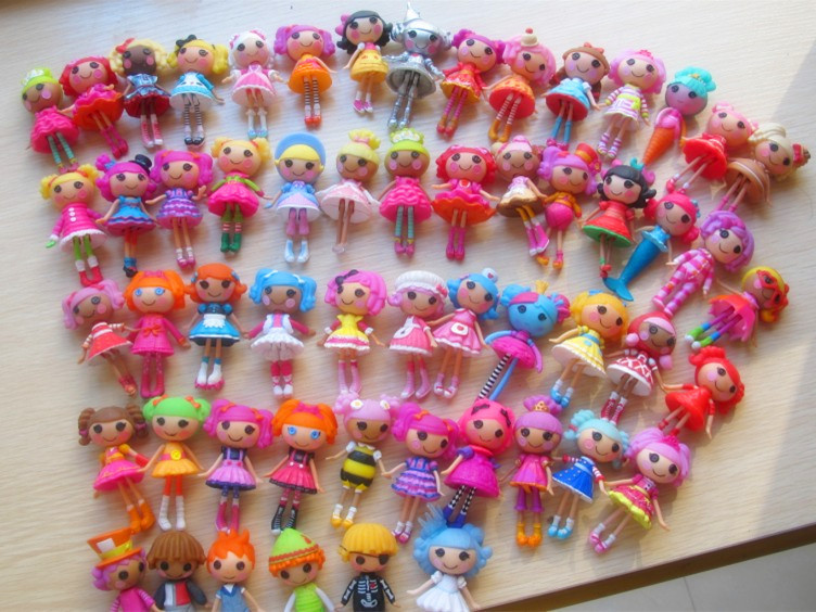 2013 new 8cm 2inch 8pcs/1lot original MGA mini Lalaloopsy Doll gift for child child toys New Year's gift(China (Mainland))