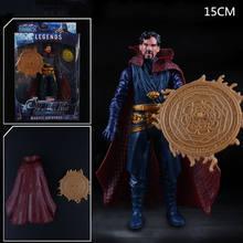 Figura de Ação Vingadores Marvel Capitão América Homem De Ferro Hulk Thor Spiderman Superhero PVC Estátua Figura Collectible Toy Modelo(China)