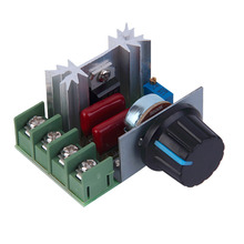 2016 new 1pc Adjustable Voltage Regulator Step-down Power Supply Module with LED Meter Stock Offer(China (Mainland))