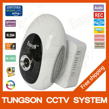 cctv Small webcam IP security surveillance Camera Wireless Built-in IR-CUT Wifi Mini ipcam Free shipping