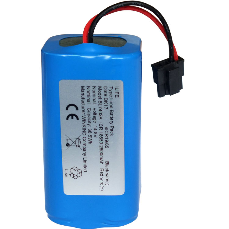 vacuum Cleaner Battery High quality Battery for Ecovacs CEN540 14.4V 2600mAh battery(China (Mainland))