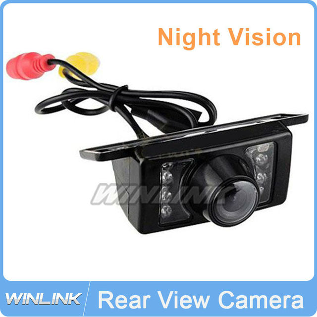 Car Reverse Camera 7 LED Night Vision Rear View Backup Camera 5% Off