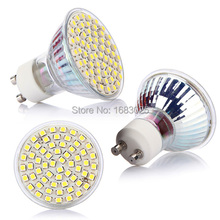Navire de nous! Brand New E27 / E14 / GU10 3528/5050 SMD chaud / Cool White LED Spotlight lampe ampoule 220 V(China (Mainland))