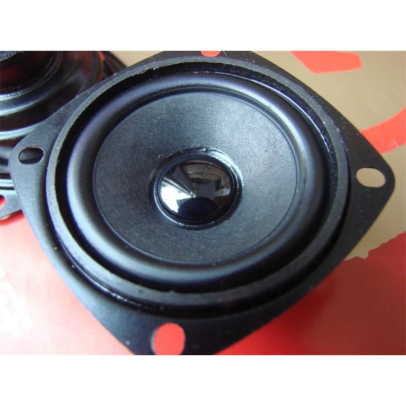 2pcs 2inch 6ohm 5W 58mm Desktop Sound Box Selvage Cone Neodymium Full Frequency Speaker(China (Mainland))