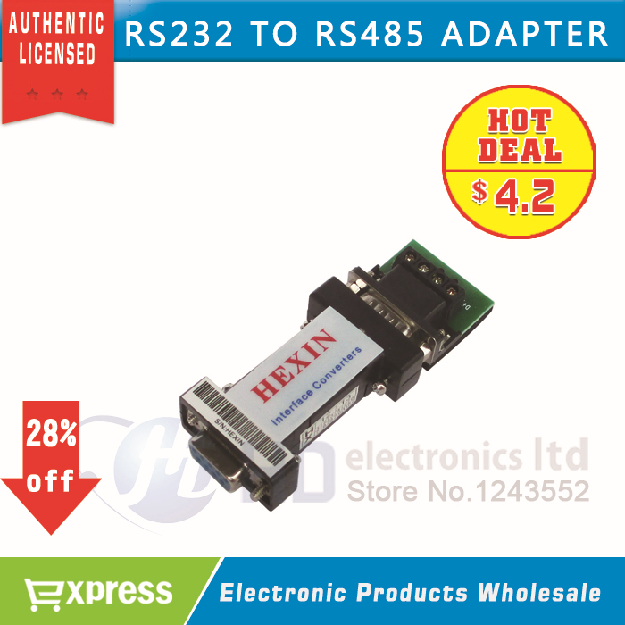 free shipping RS232 To RS485 Data Communication Adapter for PTZ CCTV(China (Mainland))