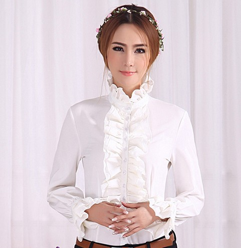 Frilly Victorian Blouse 65