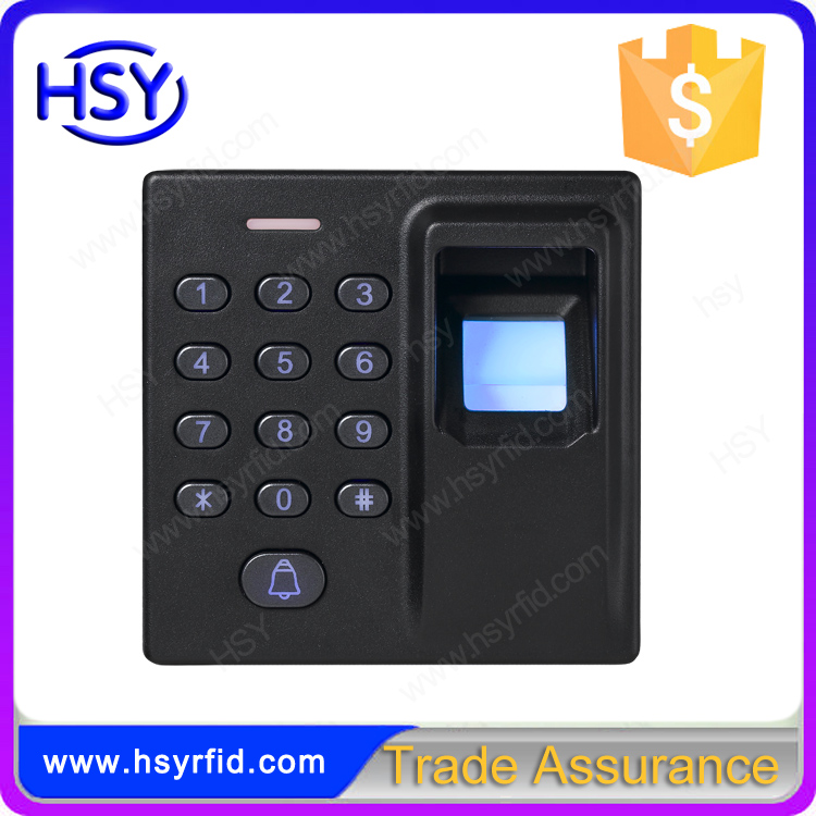 Free Shipping Keypad RFID 125Khz EM Card and Fingerprint entry lock door open Standalone access controller system(China (Mainland))