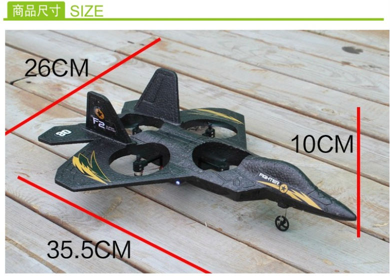 Free Shipping RC fighter 3D Turn-over upside down flight, 2.4G 4CH RC Drone Plane Airplane stunt drone Kids Boy Toys vs su-34