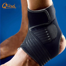2016 New Sports Safety Ankle support Pad Protection Ankle Bandage Elastic Brace Guard Support Sports Gym Foot Wrap Protection()