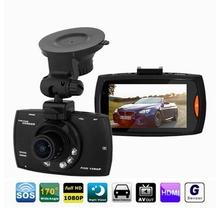 Original Novatek Car DVR Camera Video Recorder Camcorder Full HD 1080P G-sensor Night Vision Dash Cam Veichle Black Box (China (Mainland))