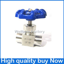 "G1/4 Stainless Steel 304 Needle Valve Female Thread 1/4"" BSPP Thread(China (Mainland))"