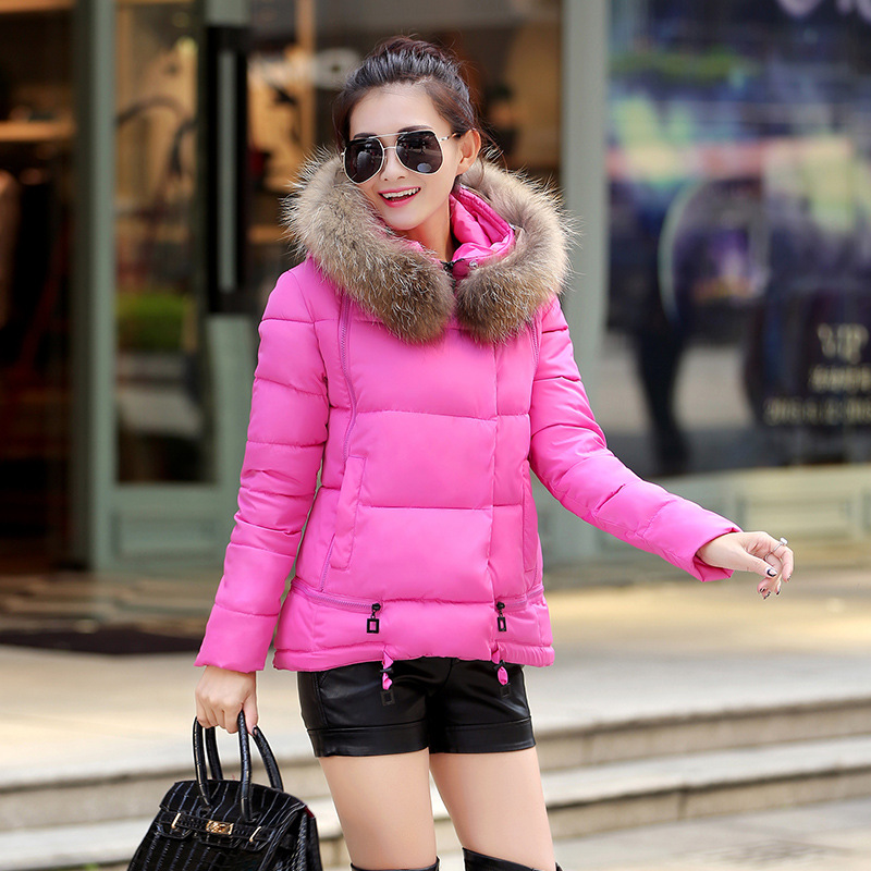 Fashion Down Padded Woman Winter Warm Coat Winter Coats Girls Cotton-padded Jacket Winter Down Cotton-padded Jacket Outerwear