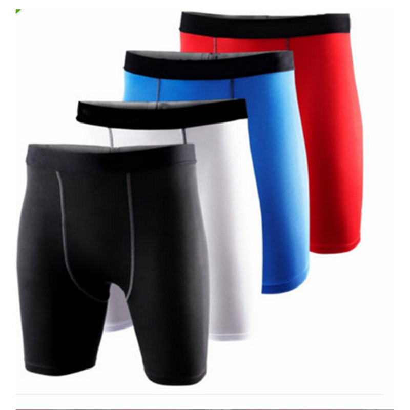Mens Boys Sport Compression Wear Running Basketball Training Tights Fitness Trousers Clothing Base L
