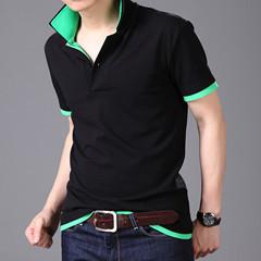2015 New Men T-Shirts Casual Slim Fit Stylish Short-Sleeve Shirt Cotton T-shirt Size:M-XXL - Whats Apparel store