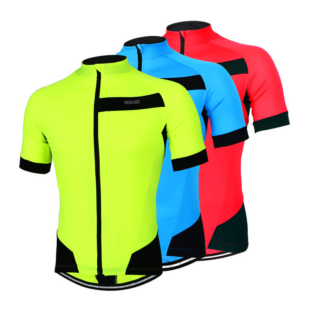 Arsuxeo-2016-Men-s-Summer-Short-Sleeve-Cycling-Jersey-Off-Road-City-MTB-Bike-Bicycle-Shirt (4)