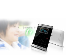M33 Mini Ultra thin Pocket Phone 6 8mm Thickness Card Mobile Phone SMS 38g Weight Low