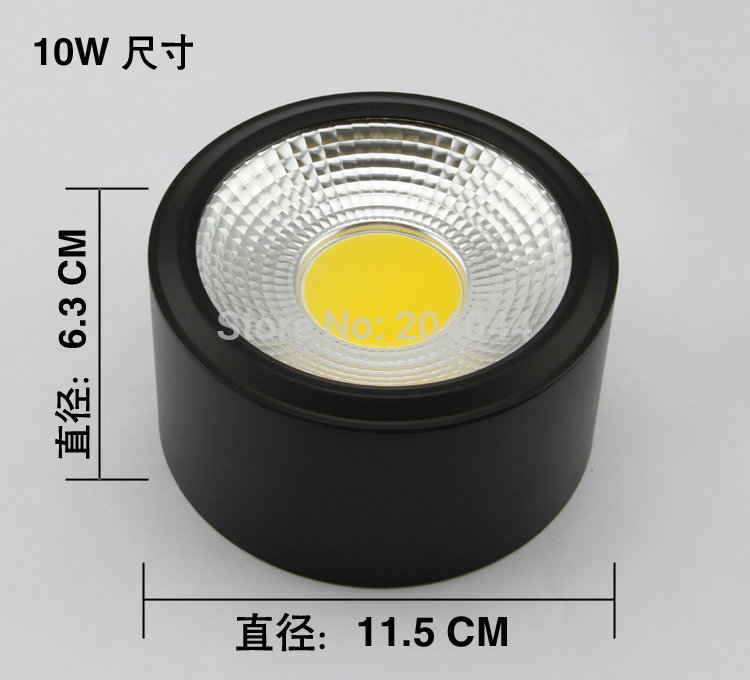 015 Spot 6pcs/lot 3w/5w/7w/ 10w,down Lamp Surface Mounted Down Lights ,high-grade Shell, ,advantage Products,high Quality Light <br><br>Aliexpress