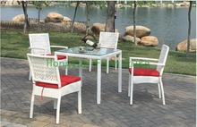 rattan outdoor dining furniture with cushion