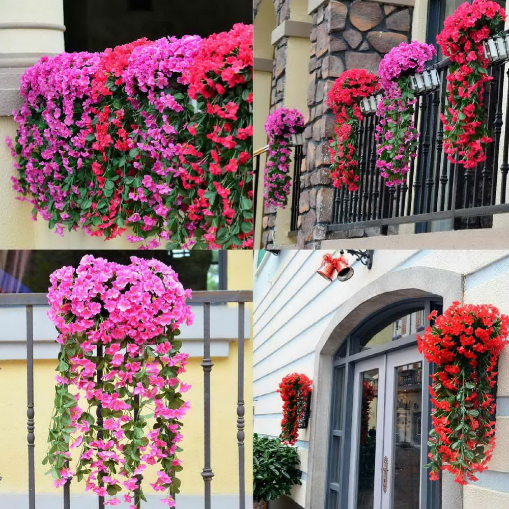 5pcs lot artificial flowers for wedding decoration cheap Artificial flower decoration for home