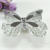 32mm Silver Butterfly Chroming Brass Plating Shoe Cabinet Dresser Handles Kitchen Knobs Pulls Cartoon Butterfly Pull Pack of 8