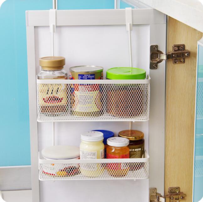seamless hanging basket kitchen cabinet door after storage