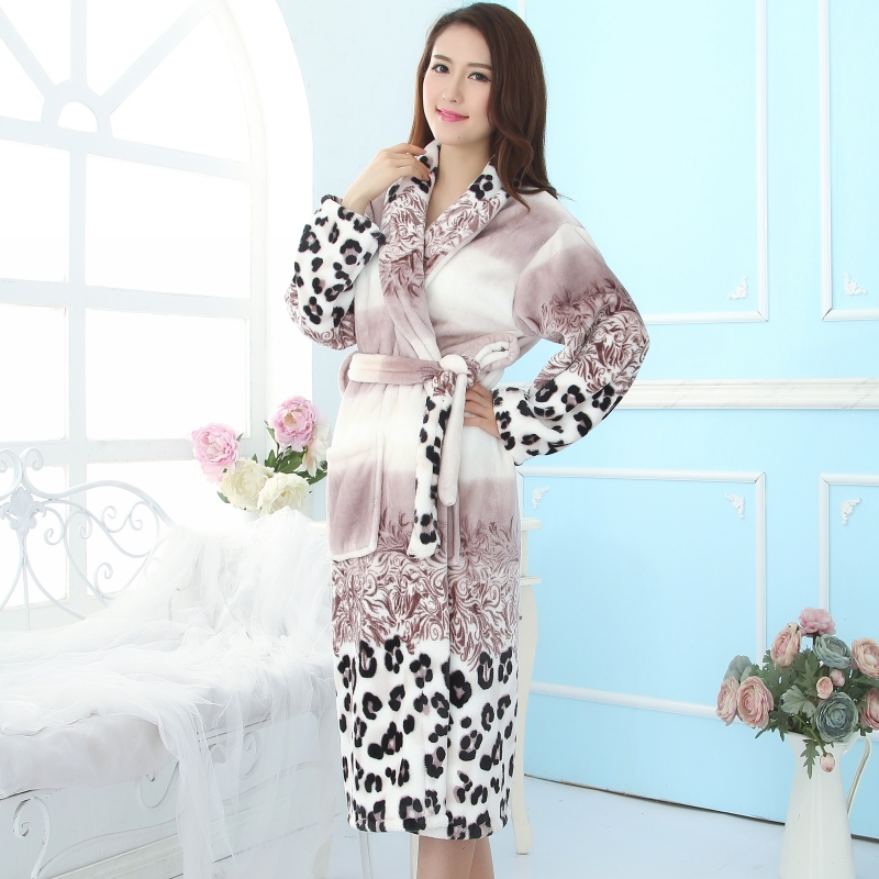 Elegant bathrobes