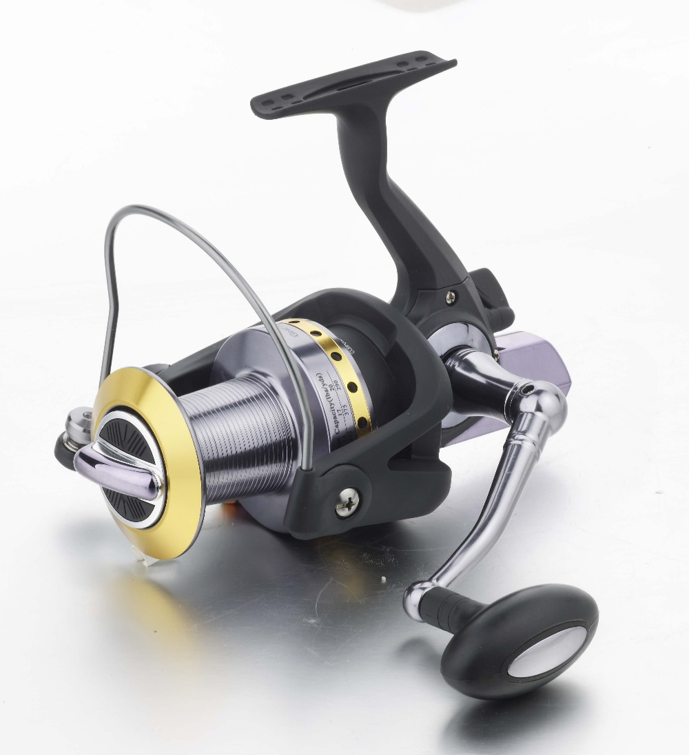 Lizard fishing 13bb gear ratio 4 1 1 size 7000 long for Surf fishing reels