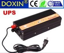 500 Вт 1000 Вт ( пиковая ) 12 В до 220 В инвертор + зарядное устройство и UPS для солнечных / энергии ветра, тихий и быстрая зарядка CE новый