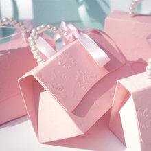 Yourwish 10 шт./лот, портативные вечерние коробки для конфет на свадьбу, подарочные коробки для детского душа, подарочные коробки для свадебной в...(China)