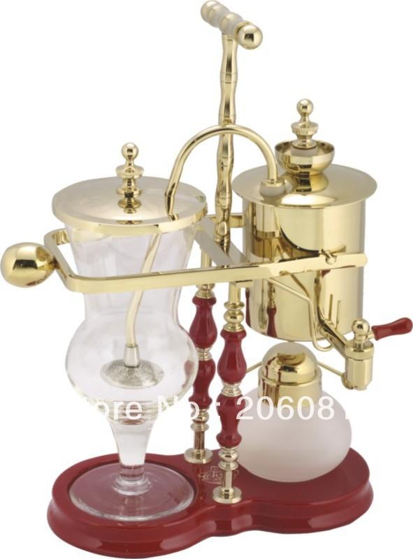 Champagne Coffee Maker ~ Aliexpress buy luxury champagne gold belgian royal