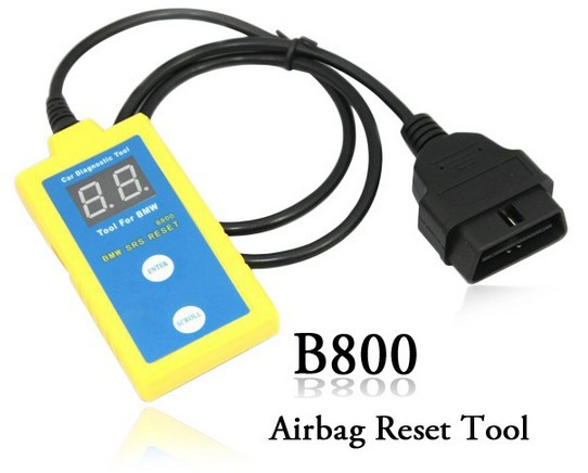 """Freet Shipping by DHL for B800 Scanner for Airbag Reset Tool for B.M.W (Displays all SRS fault codes Reset the """"SRS"""" Light )(China (Mainland))"""