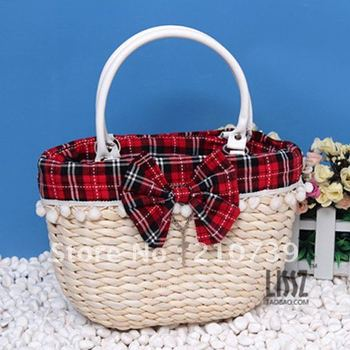 Free shipping,promotional bag,summer bag.Bow handbag,beach bag,wholesale and retail Promation!