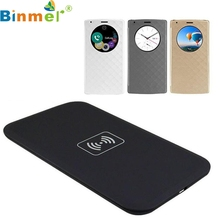 Buy LG G4 F500 H815 H811 VS986 LS991 Portable Qi Wireless Charger Quick-acting Charging Pad Quick Circle Leather Case Cover A21 for $8.58 in AliExpress store