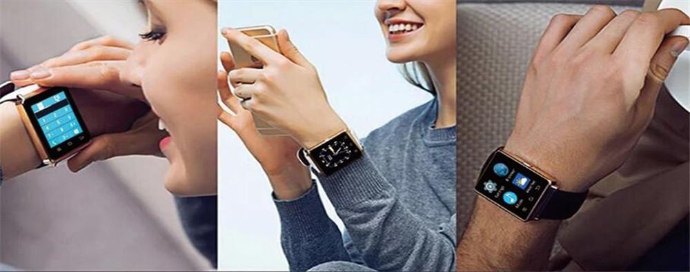 Новый № 1 D6 1.63 дюймов 3 Г Умный Часы Андроид 5.1 MTK6580 Quad Core Smartwatch D6 Поддержка Wi-Fi Bluetooth Сердечного ритма Smartwatch