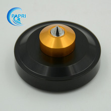Free Shipping 4pcs 44*26mm Black Aluminum Speaker Amplifier Feet Pad for CD Player Computer Chassis DAC Machine Feet