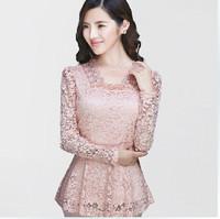 Женские блузки и Рубашки Cute-C ! .korean Loose , m/xxxxl TB-107